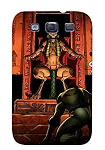 Durable Image Of Black Panther Fantastic Four 608 Ic Vine Back Case/cover For Galaxy S3