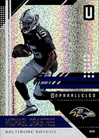 2018 Panini Unparalleled  15 Michael Crabtree Football Card Baltimore Ravens 136376176