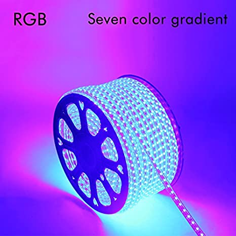 generic led strip 50m christmas rgb led strip 5050 waterproof led verlichting neon light