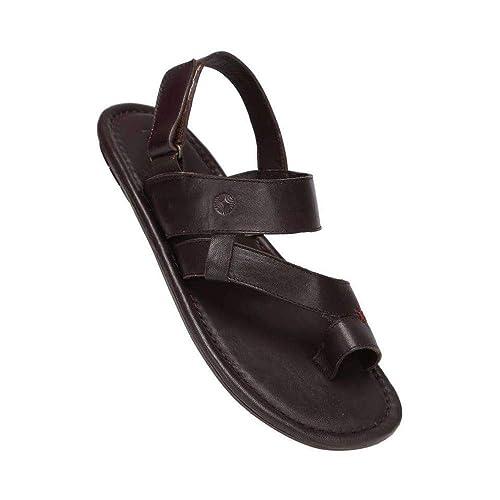Ruosh Mens Leather Velcro Closure
