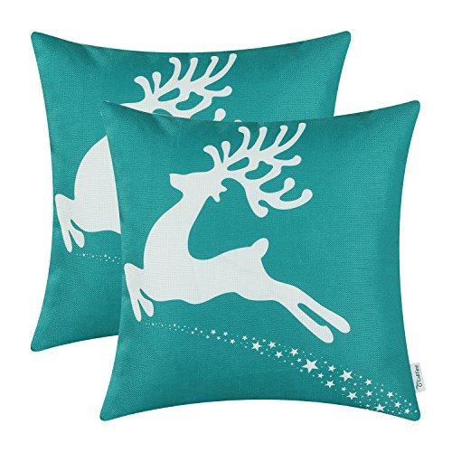 throw pillow teal amazoncom