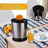 Homeleader Citrus Juicer Stainless Steel Juice