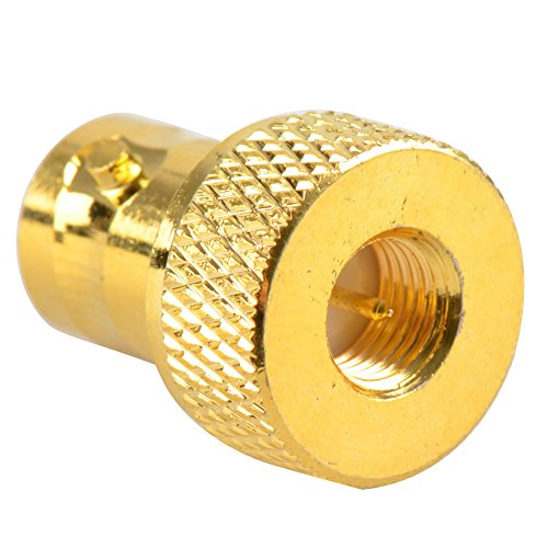 Straight Type SMA-Female to SMA-Male Converter (Gold) - 6
