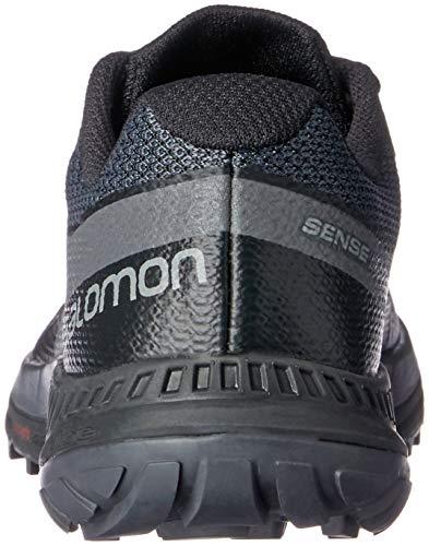 De Pour Noir Salomon Sentier Sense Course Sur Chaussures Femme Escape Aw18 O0wdqffx