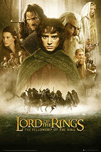 Lord of the Rings Movie Poster,