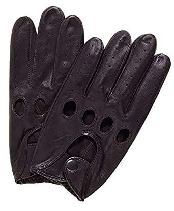 Pratt and Hart Traditional Leather Driving Gloves Size S Color Brown