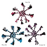 Rope Toys For Dogs Crazy 8 Dog Toy Monkey Fist & Eight Tug Knot Tassels