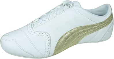 PUMA Sela Gloss Womens Leather Sneakers Casual Shoes
