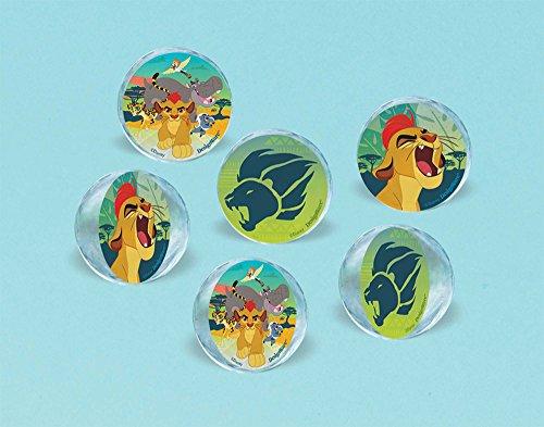 Amazon.com: Lion Guard rebote bolas 6 Count Lion King Fiesta ...