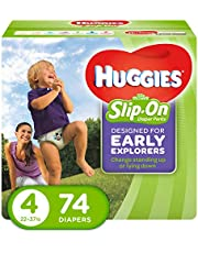 HUGGIES LITTLE MOVERS Slip-On Baby Diapers