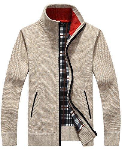 Cream Cardigan Sweater - 7