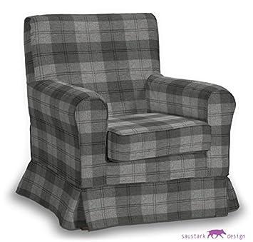 Saustark Design saustark design slip cover for ikea ektorp jennylund armchair in