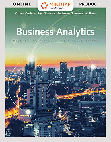 Bundle: Business Analytics, Loose-leaf Version, 3rd + MindTap Business Analytics, 1 term (6 months) Printed Access Card