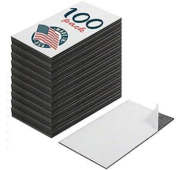 Selbstklebende Visitenkarten Magneten Zum Abziehen Und Festkleben Tolles Werbegeschenk Preiswerte Packung Mit 100 Stück