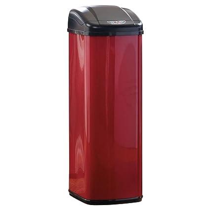 Review Brylanehome 50 Lt Motion Sensor Trash Can Red 0 Model - Style Of motion sensor kitchen trash can Plan