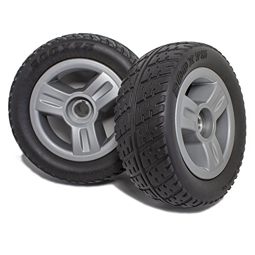 DW820 Pride Go-Go Elite Traveller 3 or 4 Wheel Scooter Rear Wheels and Tire Replacement, Pair ()