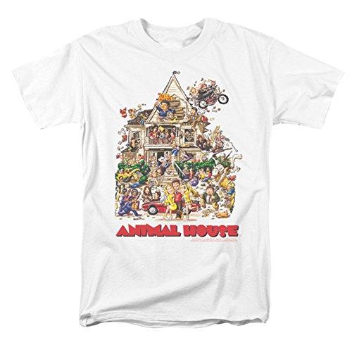 Animal shirt L'utilisateur House Des In De White L'art T Hommes rxr0n4Xw