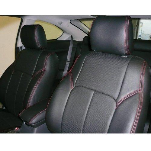 【USクラッツィオ 直輸入正規品】 Clazzio PVC シートカバー トヨタ タンドラ 2014年式以降 クルーマックスに適合 2列シートセット B0744F9JQP