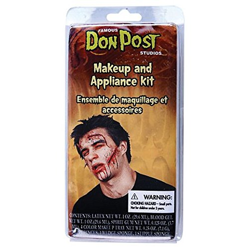 Fancy Face Paint Color Halloween Zombie Makeup And Appliance ()