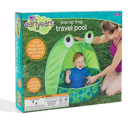 Pop-Up Frog Travel Pool