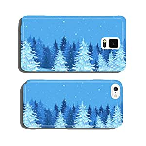 Winter landscape cell phone cover case Samsung S6