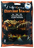 InstaFire Charcoal Briquette Fire Starter Pouches for Grills, Smokers, More - Chemical Free, Awarded 2011 Innovative Product Of The Year