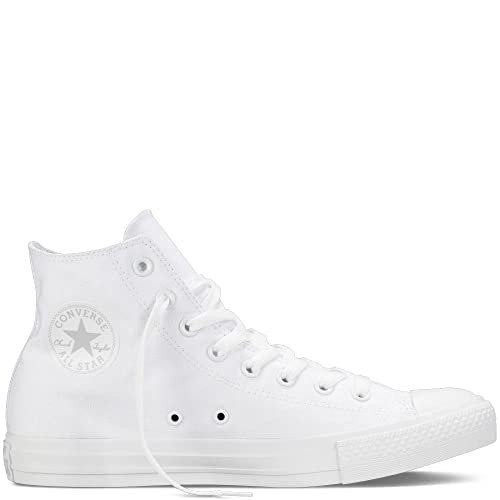 2converse all star hi canvas sneaker unisex adulto bianco