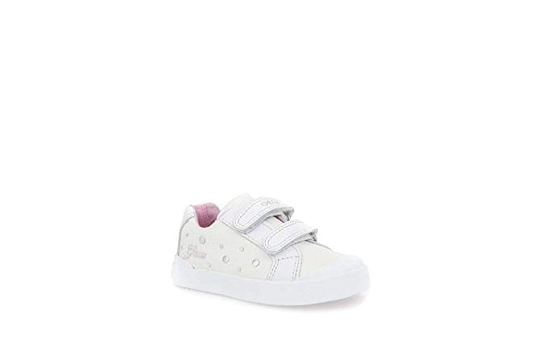 b2a72cf72e0012 Geox Baby Shoes Sneakers B Kiwi in White Canvas B72D5B-01085-C1001:  Amazon.co.uk: Shoes & Bags