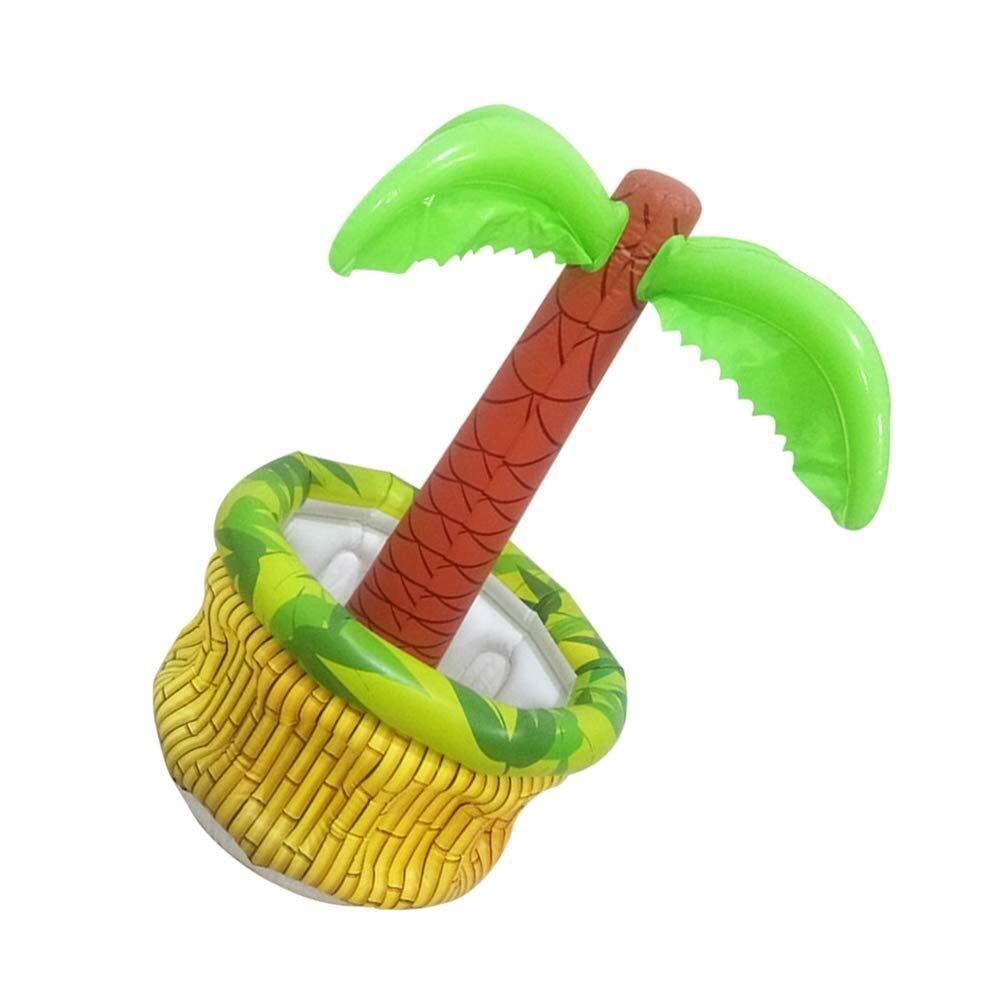 Yangmg Enfriador de Palmera Inflable for Fiesta Hawaiana Estilo de ...