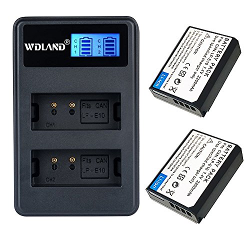 WDLAN Canon battery charger