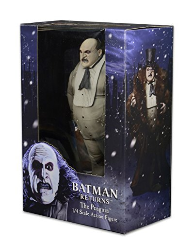 NECA Batman Returns - 1/4 Scale Action Figure - Penguin (Danny DeVito) (Penguin Man From Batman)