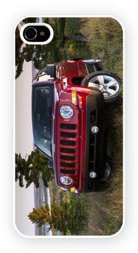 Jeep Patriot Red, iPhone 4 4S, Etui de téléphone mobile - encre brillant impression