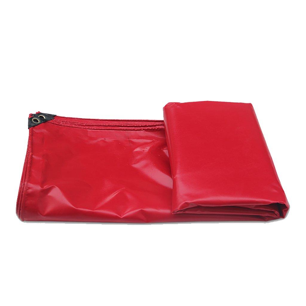 TDLX Rote PVC Wasserdichte Sonnenschutzplane (größe : 2  3m)