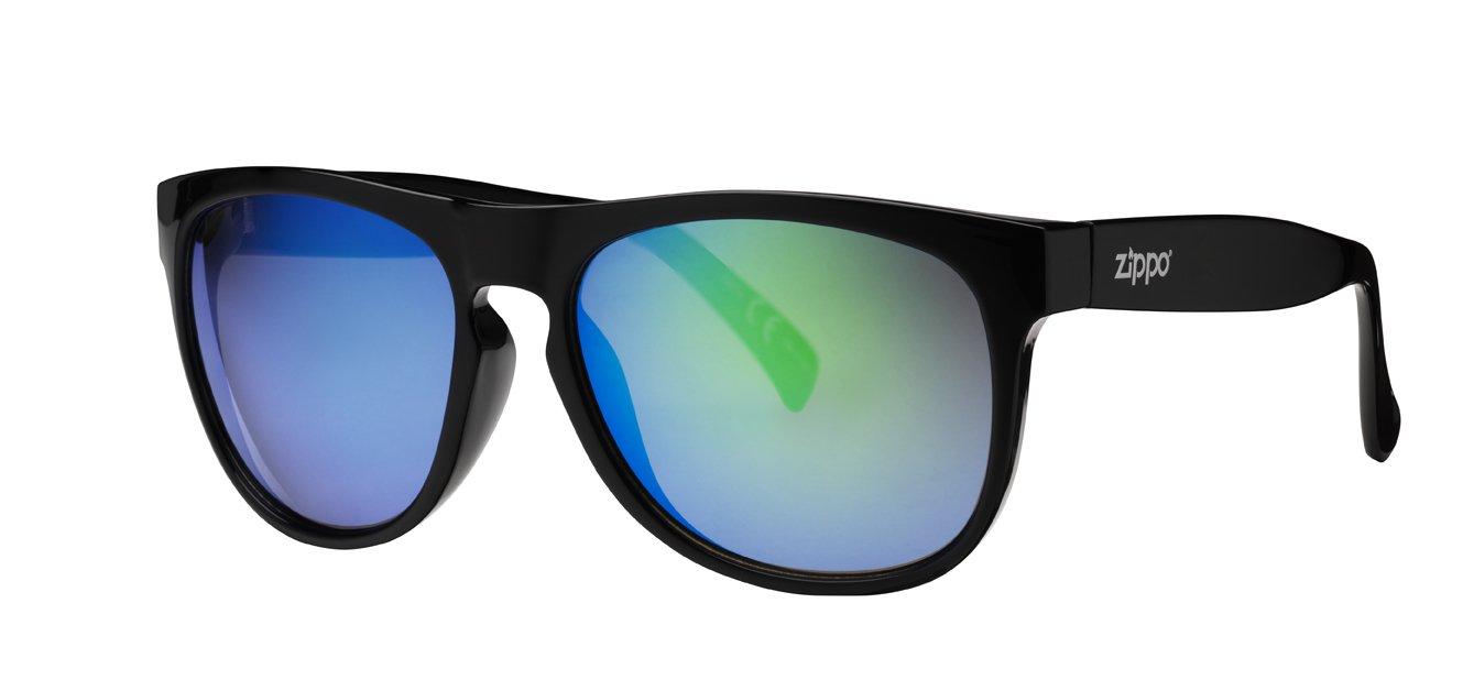 Zippo Multicoating Lens Gafas de Sol, Unisex, Negro, Medium ...