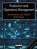 img - for Production and Operations Management by A. P. Muhlemann (1992-05-31) book / textbook / text book