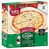 Katz Gluten Free Small Pizza Crust 5' | Dairy, Nut and Gluten Free | Kosher (1 Pack of 4 Crusts, 8.5 Ounce)