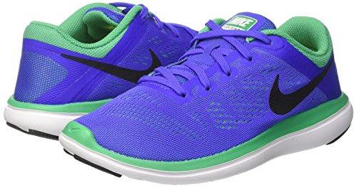 Nike Flex 2016 Rn Barnen Löparskor - Avgörande Blue