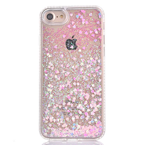 iphone case with glitter inside liquid pink glitter new bling cell phone cover 17630