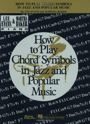 How To Play Chord Symbols In Jazz And Popular Music Lee Evans