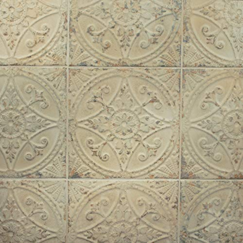 SomerTile FPESAJB Murcia Ceramic Floor and Wall Tile, 13'' x 13'', Blanco by SOMERTILE (Image #11)