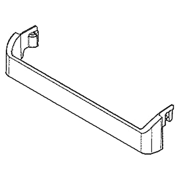 5304498909 Refrigerator Freezer Door Bin Genuine Original Equipment Manufacturer OEM Part Clear