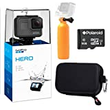 Photo : GoPro Hero (2018) Camera, Ritz Gear GoPro Case, Polaroid 8GB Class 10 MicroSD Card and Polaroid Floating Hand Grip Acessory Bundle