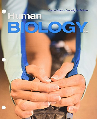 Bundle: Human Biology, Loose-leaf Version, 11th + MindTap Biology, 1 term (6 months) Printed Access Card -  Cecie Starr, 11th Edition, CD-ROM
