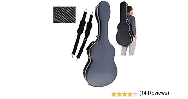 Estuche ABS para Guitarra Clásica, marca Cibeles (Gris Cuadritos): Amazon.es: Instrumentos musicales