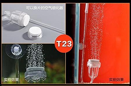 yt Diffuseur d'air à suspendre min Nano Bubble Counter accessoire de pompe à air Aquarium oxygène Silencieux Silencieux sans bruit YT Aquarium Products Co. Ltd. T-23; T-50; T-100