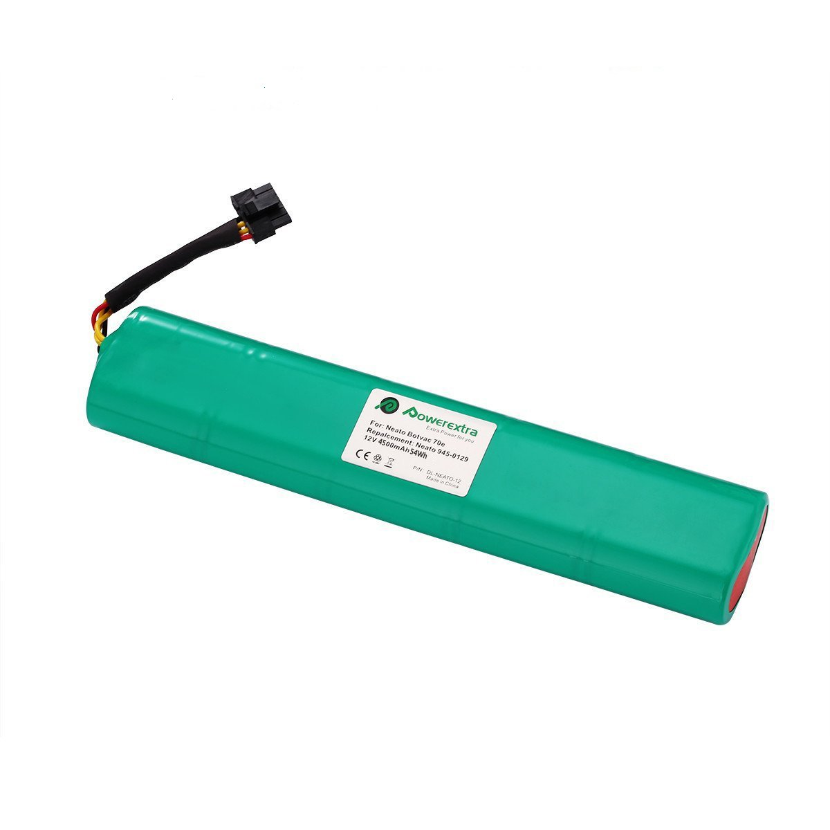 {Upgraded}Powerextra 12V 4500mAh Ni-Mh Battery Pack for Neato Botvac Series and Botvac D Series Neato Battery Neato Botvac Battery 70e, 75, 80, 85, Neato Robot Vacuum Cleaners.