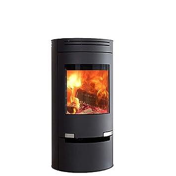 Estufa de leña Aduro 1 - 1 negro 6 kW horno de leña: Amazon.es ...