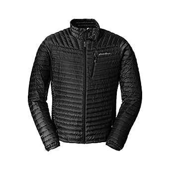 Eddie Bauer Men's MicroTherm StormDown Jacket, Black S