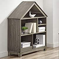 Classic Brands Sam & Jack Two Shelf Solid Wood Bookcase/End Table