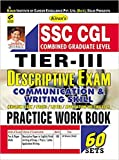 Kiran's SSC CGL Practice Work Book Tier III English Medium - 1821 Paperback – 2017